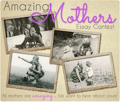 #Mother's Day Essay Contest winners