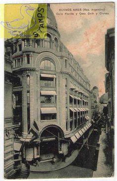 Grandes tiendas. De El Arcón de Buenos Aires. Bs As, Vintage Architecture, Good Old Times, World History, Big Ben, Life Is Good, Art Nouveau, Retro Vintage, Harry Potter