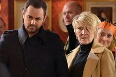 Mick Carter (Danny Dyer) had no idea Shirley was his mum in EastEnders' big storyline last year