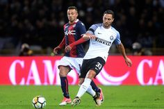 Danilo D'Ambrosio of FC Internazionale in action during the Serie A match between Bologna FC and FC Internazionale at Stadio Renato Dall'Ara on September 19, 2017 in Bologna, Italy.