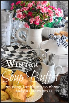 WINTER SOUP BUFFET - StoneGable