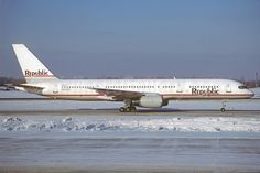 Republic Airlines (1st) Boeing 757-2S7 N602RC (msn 23322) ORD (Christian Volpati Collection). Image: 913930.