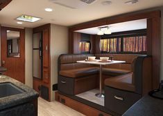 Gallery - Lance 2295 Travel Trailer - Standard exterior kitchen and available interior fireplace set the 2295 apart Easy Vegetarian Lunch, Healthy Dinner Recipes, Breakfast Recipes, Fireplace Set, Marinated Pork Tenderloins, Types Of Vegetables, Shower Rod, Extra Rooms, Spacious Living Room