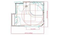 Dimensions Et Plan De La Salle Du0027eau Préfabriquée Familianova