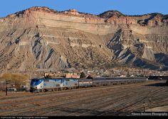 RailPictures.Net Photo: AMTK 20 Amtrak GE P42DC at Helper, Utah by James Belmont