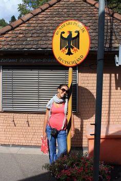 al confine con la Germania
