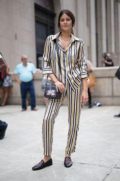 Dani Michelle is seen attending Cushnie Et Ochs during New York Fashion Week on September 9 2016 in New York City