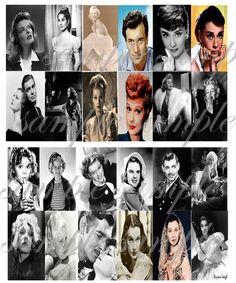 Vintage Movie Stars...