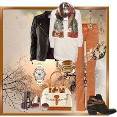 """Fall Colors"" by alison-louis-ellis on Polyvore"