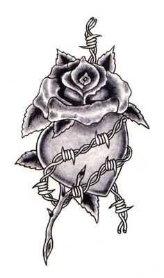 Rose tattoos can also symbolize faith when combined with things of religious significance. Heart tattoo images heart tattoo designs heart t. Hip Tattoos Women, Mom Tattoos, Body Art Tattoos, Tatoos, Black Tattoos, Small Tattoos, Bleeding Heart Tattoo, Rose Heart Tattoo, Broken Rose