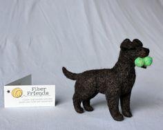 Felt Labrador Retriever: CUSTOM PET PORTRAIT To Match Your Lab