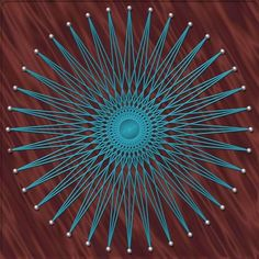 Stunning - I'd completely forgotten string art was a thing. :) via Morguefile.com