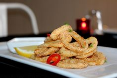 Tomi's Lemon and Chilli Fried Squid with Lemon Aioli