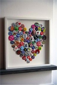 I should do this with all my old badges and hang it in the craft room