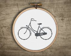 ▲▼▲ classic italian bicycle cross stitch pattern ▲▼▲  hand designed cross stitch pattern  this pattern comes as a PDF file that you can immediately download after purchase. all our patterns include・  : color block symbols : list of DMC floss needed : choice of 14, 18, or 22 count layout : printable version of final stitched product ▲▼▲ pattern ▲▼▲ floss : 1 DMC color fabric : pictured on white, but get creative and try something bold + unexpected stitches : 110w x 65h skill level…