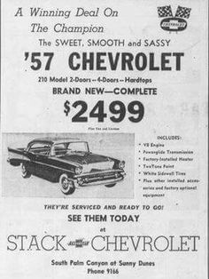 Chevy trucks aficionados are not just after the newer trucks built by Chevrolet. They are also into oldies but goodies trucks that have been magnificently preserved for long years. Vintage Advertisements, Vintage Ads, Vintage Trucks, Bel Air, Chevrolet Dealership, Old American Cars, Car Advertising, Old Ads, Vintage Motorcycles