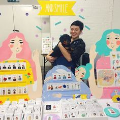 And Smile Studio at Renegade London 2015 andsmilestudio.com