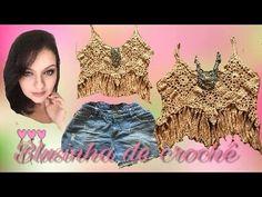 CROPPED EM CROCHÊ com Suzete Lemos - Programa Arte Brasil - 28/09/2016 - YouTube