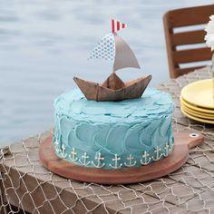 Sail-Away Birthday Cake - Celebrate Magazine