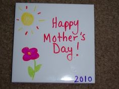 This would be fun to make for mothers day at school