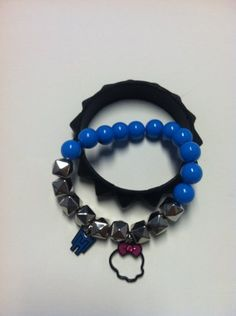 Monster High Set of 2 Beaded and Rubber Bracelets by HER Accessories. $3.99. Monster High Bracelets