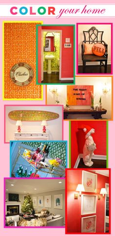 Decorating With Color – Tips from Janie