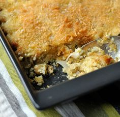 Chickpea Casserole with Lemon, Herbs & Shallots - my favorite casserole ever.