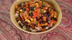 Carla Hall's Black Bean Picadillo