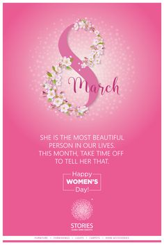 On this International Women's Day, remember that as a woman, all life spring from you. So look at the world and smile. For without you, there would be no life. Beautiful Person, Most Beautiful, Happy Woman Day, Ladies Day, Home Accessories, Home Goods, Concept, Smile, Make It Yourself