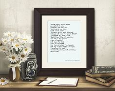 This is the *instant download* version of my Alice in wonderland quote print in a vintage style typewritten font  SIZE: You can print this file as 8x10 or 16x20   Get this today by clicking on the picture and going to my Etsy shop.