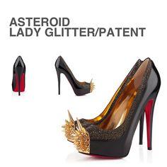 CHRISTIAN LOUBOUTIN Asteroid Lady Glitter - @antonia- #webstagram