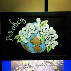 Ao nosso mestre @projeto_verdejar que com BRIO, nos concede seu tempo para plantar seu conhecimento em nós.  Feliz Aniversário Verdejar, muitas felicidades, paz, amor, saúde, alegria, conhecimento, vontade, prosperidade, luz e sucesso, muito sucesso!  #arteemlousaclebcoli  #arteemlousa  #emminhafesta #projetoverdejar #lettering