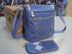 Best 12 Classic Casual Women's Handbag Blue Denim Cross Body jeans Shoulder Bag Messenger Bag ladies crossbody bags – SkillOfKing. Diy Bags Jeans, Denim Purse, Denim Crafts, Recycled Denim, Handmade Bags, Purses And Handbags, Cross Body, Blue Denim, Crossbody Bags