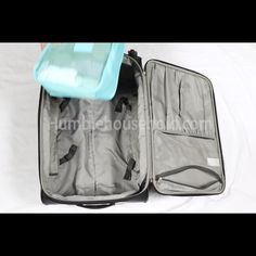 Stay organized during travel with our Travel Packing Cubes! Our 6 piece set makes packing & unpacking mess free! Suitcase Packing, Travel Packing, Us Travel, Life Hacks, Packing Cubes, Ways To Travel, Travel Tips, Travelling Tips, Travel Videos