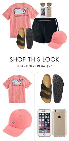 """""""""""Preppy"""" by Charlotte"""" by timandsusanhowell on Polyvore featuring NIKE, Vineyard Vines, Birkenstock, Speck and Ray-Ban"""
