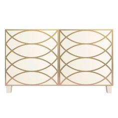Just loving this Ikea Besta Combination with Cece O'verlays painted in gold!