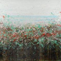 """Saatchi Art Artist Lisa Carney; Painting, """"Mint Weed"""" #art"""