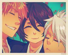 Ichigo, Rukia, & Hitsugaya