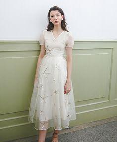 Beaded Star  Dress