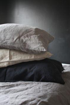 just love washed linen look.similar range available at .auI just love washed linen look.similar range available at . Linen Sheets, Linen Pillows, Linen Bedding, Bed Linens, Bedding Sets, Bed Sheets, Grey Pillows, Home Bedroom, Bedroom Decor