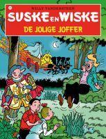 """Recensie van Jelle over """"De jolige joffer"""" (Suske en Wiske 210) van Willy Vandersteen   http://www.ikvindlezenleuk.nl/2015/07/willy-vandersteen-de-jolige-joffer/"""