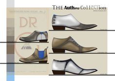 Design brief for The Worshipful Company of Cordwainers design award 2014. Father and son footwear collection for Spring/Summer 2015.  Footwear collection.