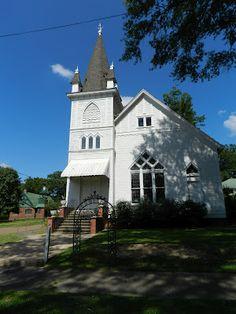 Antebellum churches in Greenwood, Mississippi