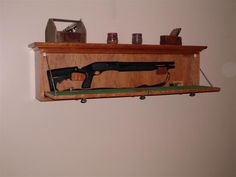 Gun cabnets in headboard of bed headboard gun cabinet for Bedroom furniture gun safe