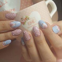 Elegant Nail Designs, Elegant Nails, Nail Art Designs, Nude Nails, Pink Nails, Hair And Nails, My Nails, Nail Polish Style, Nail Drawing