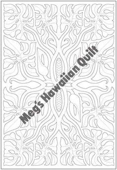 """Monstera 80x55cm (32""""x22"""") - Meg's Hawaiian Quilt"""