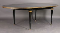 Midcentury oval extending dining table one kingslane 1345 for Dining room tables 38 inches wide