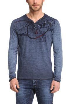 "Desigual Men's T-Shirt ""Vida Why"" 447T1427 | Fun Fashion | Canada |"