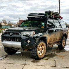 «Overlanding does the rig alot of good #tbt #FLtoYellowstone #4runner #4x4…
