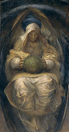 The All-Pervading painted by George Frederic Watts, 1887-90